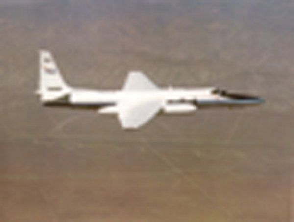 First acquired in 1981, NASA has been using two ER-2 Airborne Science aircraft as flying laboratories