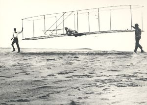1902 Wright Brothers' Glider Tests