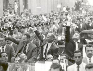 new york city welcomes apollo 11 astronauts