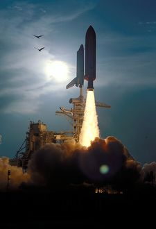 STS-64 Launch